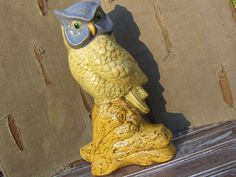 Vintage Ceramic Owl Figurine by MyVintageAlcove on Etsy, $24.95
