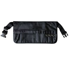NYX Makeup Bags, Tool Belt/Apron Black, 1 Ounce - An on-set essential. The makeup tool belt features three zippered pockets, three large pockets, four medium pockets and eleven brush compartments. The adjustable straps with buckle closures means it�