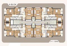 Risultati immagini per apartman mimari plan