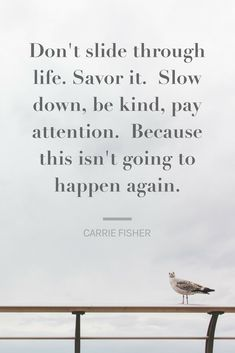 Carrie Fisher wisdom and quote - Sherrelle