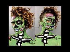 Pop Art Zombie Tutorial | Karli Scott - YouTube