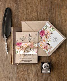 WEDDING INVITATIONS watercolor 01-Wcg-z