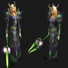 Et Voila! Demon priest with bonusdisapprovingeyebrows! Built around the Mag'hari Ritualist Horns. Gear;http://www.wowhead.com/compa...