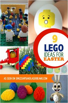 Want some holiday inspiration for your kids? They'll stay busy with these awesome Lego Easter ideas!