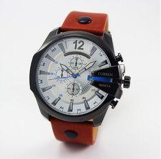 Pánské voděodolné hodinky CURREN bílé – pánské hodinky Na tento produkt se  vztahuje nejen zajímavá sleva aa56b6b243