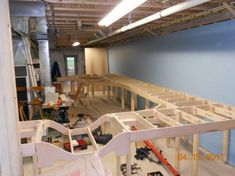 Wye addition to curved module - Curved and Custom Benchwork