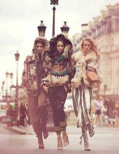 Mis Queridas Fashionistas: Vogue Spain September 2015: Larissa Hofmann, Melina Gesto and Sanne Vloet by David Bellemere