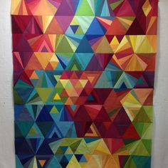 Strongstitches - quilt top - Tessallations Quilt pattern by Alison Glass
