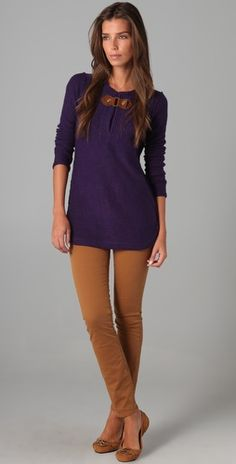 Tory Burch. I want this outfit for Christmas! Perfect for a Friday at the office!