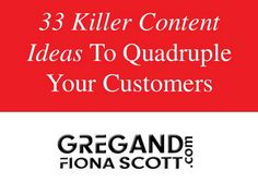 Do you ever wonder how you're going to create epic content that gets your message out to your prospective customers, but don't have a clue where to start?  Or are you ever stuck for ideas re what to blog about when wanting to create epic content - we have the answer! Click through to a blog post we just published