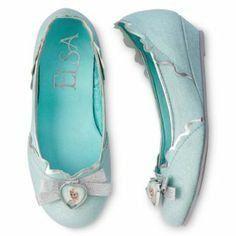 Disney Store Frozen Elsa Shoes Costume Slippers Girls Size US 13/1 13-1 @ niftywarehouse.com