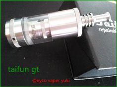taifun gt atomizer clone,contact information, skype eyco vaper yuki email yuki@eycotech.com