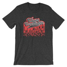 Excited to share the latest addition to my #etsy shop: Chaos Coordinator Fun Short-Sleeve Unisex T-Shirt https://etsy.me/2uNhyYH #clothing #shirt #tshirt #noveltytshirt #funnytshirt #crazytshirt #shortsleeve #graphictshirt #hipsterclothing