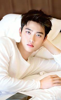 Kyungsoo, D O Exo, Exo Couple, Choi Siwon, Exo Lockscreen, Chansoo, Handsome Anime, Do Kyung Soo, Xiu Min