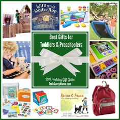 2017 Gift Guide: Gifts for Toddlers & Preschoolers: What are the best gifts for toddlers and preschoolers? These top gift picks help foster social and emotional skills and a love of learning through play.