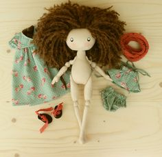 New cute doll Lily #doll #ragdoll #dollmaker