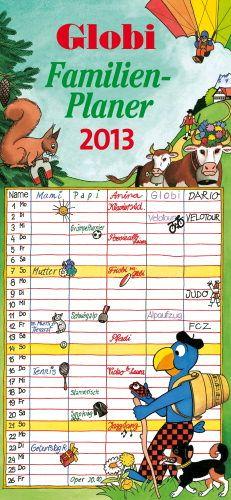 Globi Familienplaner 2013. Wer Globi mag, der wird diesen Kalender lieben! Father, Names, Health, Calendar, Photo Illustration, Pai, Health Care, Healthy, Salud