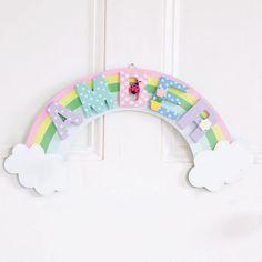 Rainbow Door Plaque | JoJo Maman Bebe