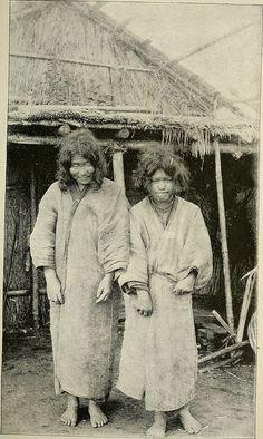 Aino Women, Abashiri. 1890