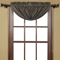 August Grove Millicent Plaid Balloon Lined Curtain Valance