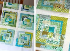 Quilt Taffy: Bento Boxes, Love Squares and Pioneer Woman