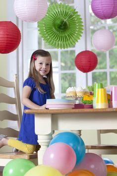 Solid Color Kids Birthday Party #Birthday #Kids #BirthdayExpress