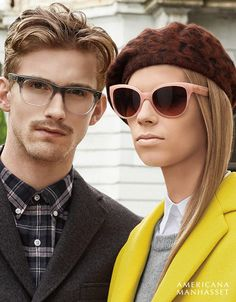 Americana Manhasset Fall Winter 2015 Campaign Fashion, Oliver Peoples, Rj  King, Wes b1a0511e18