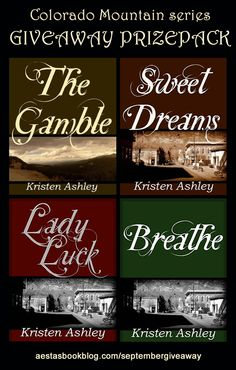Kristen Ashley's Colorado Mountain Series. Love them all but my favorite is Sweet Dreams and The Gamble.