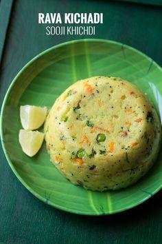 rava kichadi recipe with step by step photos. rava kichadi is a south indian breakfast preparation. rava kichadi is more like khichdi.