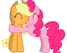 The Hugs (Shipping) of Applejack and Pinkie Pie