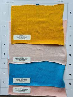 4 TYPES OF SINGLE JERSEY 1. Yarn Count 21S, 180gsm, 3m/KG 2. Yarn Count 40S, 110gsm, 4.7m/KG 3. Yarn Count 26S, 170gsm, 3.1m/KG 4. Yarn Count 32S, 150gsm, 3.5m/KG Fabric, T Shirt, Collection, Tejido, Supreme T Shirt, Tela, Tee Shirt, Cloths, Fabrics