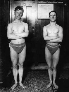Swimmers training for Stockholm 1912 Olympics by International Olympic Committee, via Flickr