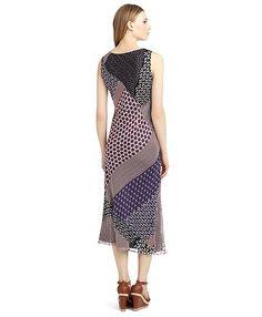 Jersey patchwork dress