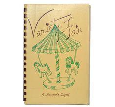 Vintage Petoskey Michigan Variety Fair Community Household Digest Recipes 1948 Spiral Bound