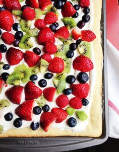 "I love to make fruit pizza during this time of year when the weather can get a little dreary. The bright colors of the fresh fruit seem to brighten menus as well as spirits. Fruit pizza seems to say, ""Spring is on it's way!"" I have always loved fruit pizza, but in the past, it seemed to be a …"