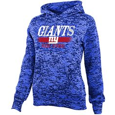 NFL Team Apparel Girls New York Giants Shawl Neck Hoody♥