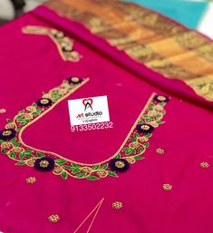 Cutwork Blouse Designs, Wedding Saree Blouse Designs, Simple Blouse Designs, Stylish Blouse Design, Blouse Back Neck Designs, Peacock Embroidery Designs, Simple Embroidery Designs, Maggam Works, Designer Blouse Patterns