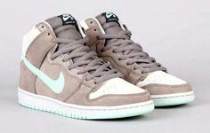 e83dab0ee66b nike sb dunk high soft grey medium mint