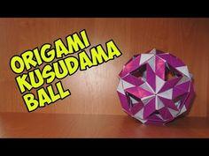 DIY: Origami Kusudama Clio\折り紙くす玉クリオ - YouTube