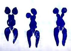Image result for ив кляйн синий монохром Yves Klein, Smurfs, Artist, Fictional Characters, Comic, Artists
