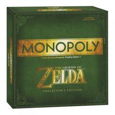 Pour bien s'amuser entre fans de la saga Zelda rien de tel qu'une petite partie de Monopoly édition spécial Zelda!
