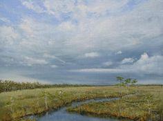 Everglades Storm - Oil - Linda Apriletti