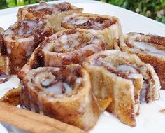Gluten Free Cinnamon Rolls/Kelli's Kitchen  Make it dairy free by swapping the milk and butter with your favorite dairy free version!