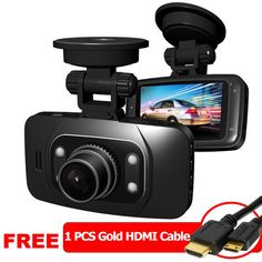"""2.7"""" Full HD 1080P Car DVR, Night Vision Infra Red, GS8000 - Free HDMI Cable  RM 150.00"""