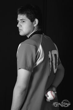 Senior portrait- baseball