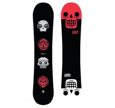 Tabla de snowboard Easy Skull 2019
