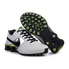 Find Discount Men s Nike Shox OZ Shoes White Black Silver Green online or  in Pumacreeper. Shop Top Brands and the latest styles Discount Men s Nike  Shox OZ ... ba621fdff