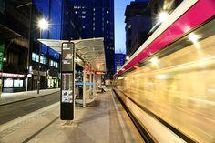 Birmingham Tram Stops Platform Canopies - Bull St. and Snow Hill | Broxap
