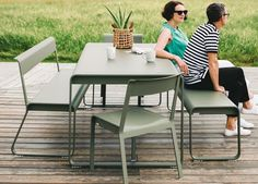 Classic with a Twist Fermob Bellevie Dining Table | Outdoor Furniture | est living Design Directory | Outdoor | est living