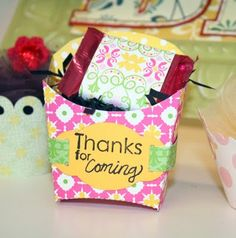 lifestyles box cute with matching candy wrap!